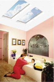 1 Bathroom Skylights