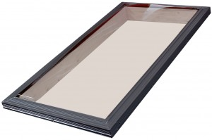 curb mounted aluminum skylight
